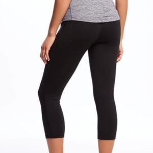 ON Maternity High-Rise Elevate Compression Crops